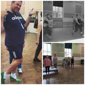 Hairspray the Musical dance rehearsals