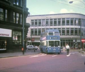 Bradford 1960s-bus-David Hillas