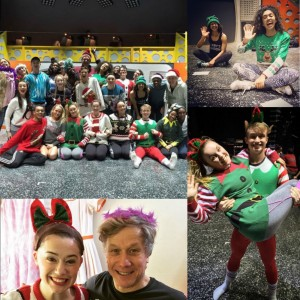 Hairspray the Musical Christmas Collage