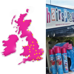Hairspray the musical UK Tour collage