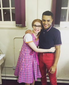 Hairspray the Musical- Monique Young & Layton Williams