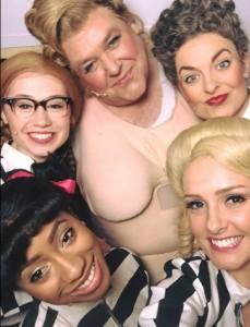 Hairspray the Musical UK Tour Cast Selfie