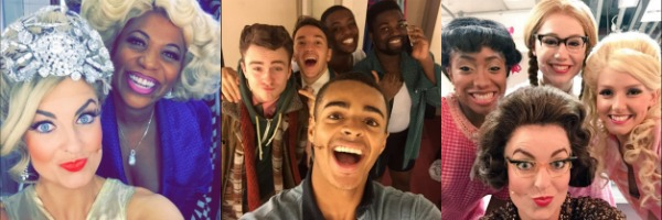 Hairspray the Musical UK Tour Selfies