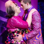 Tracy Turnblad (Rebecca Mendoza) and Link Larkin (Edward Chitticks) Hairspray UK Tour