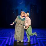 Hairspray UK Tour- Matt Rixon (Edna Turnblad) and Norman Pace (Wilbur Turnblad)
